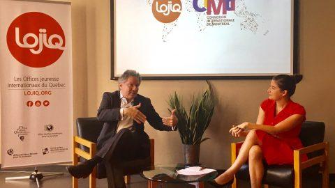 Quand la mobilité internationale et les jeunes ne font qu'un : compte-rendu du dernier Café du Monde de CIMtl chez LOJIQ